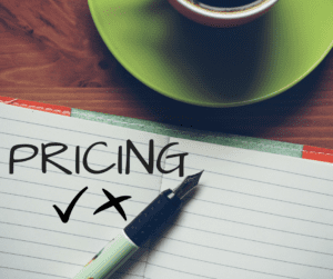 Four no-nos that you shouldn't do when setting the prices for your services