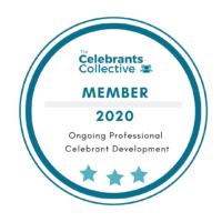 Celebrants Collective member badge 2020 (white background)