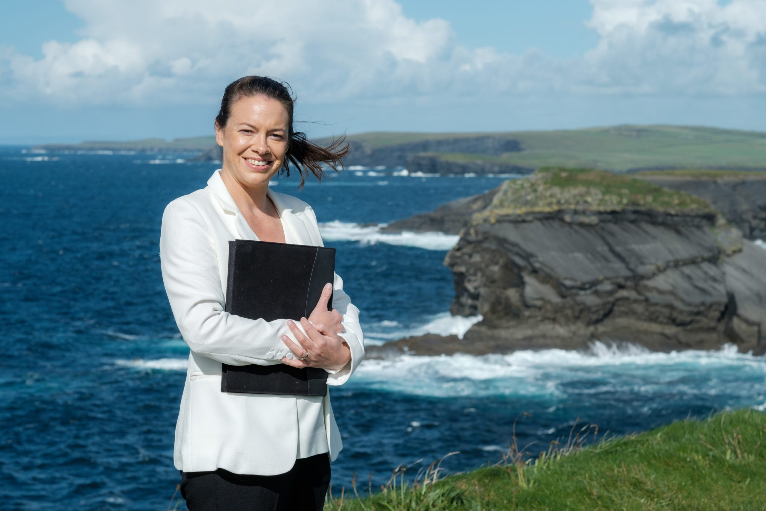 Wedding Celebrant by Moher Cliffs